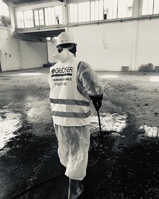 sanificazione aziende a Roma
