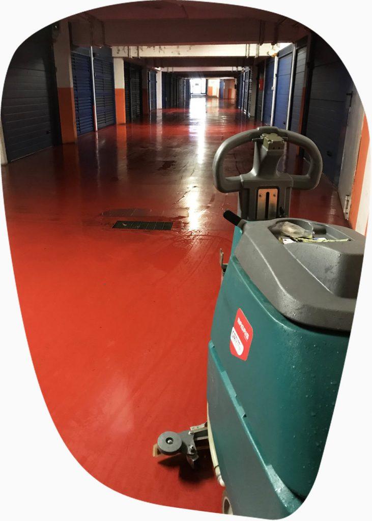 pulizie garage condominiali roma